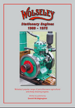 Wolseley Stationary Engines 1909 -1975
